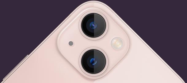 iPhone 13のカメラ