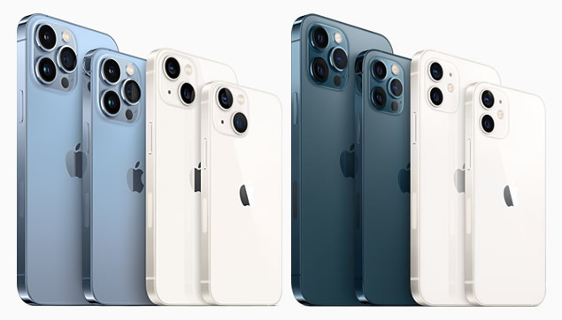 iPhone 13、iPhone12