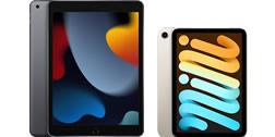 iPad第9世代とiPad mini第6世代の違いを比較