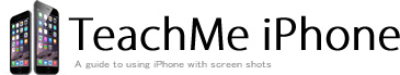 TeachMe iPhone