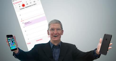 アップル、iPhone 6の発表イベントを9月9日に開催 - 米メディアが一斉報道
