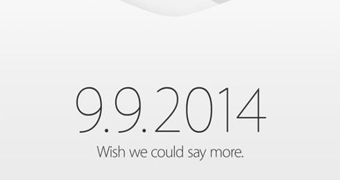 iPhone 6発表か? アップル、9月9日にイベントを開催 各メディアに招待状